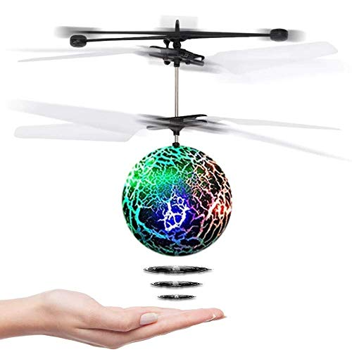 CYKT Toys for 3-12 Year Old Boys, Drones Hover Flying Ball Toys for 3-12...