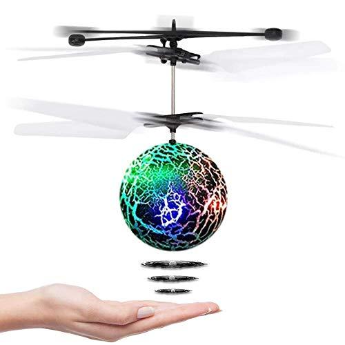 CYKT Juguetes para niños de 3-12 años, Drones Hover Flying Ball Juguetes para niñas de 3-12 años Regalos para niños Regalos para niños de 8-9 años