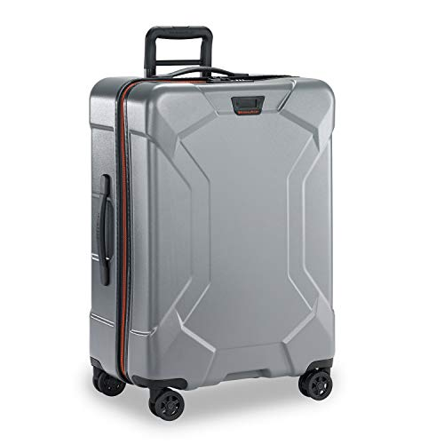 Briggs & Riley Torq Hardside Luggage, Granite, Checked-Medium 27-Inch