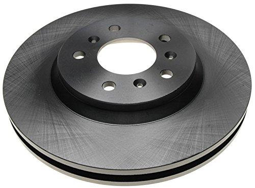 ACDelco 18A2322A Advantage Non-Coated Front Disc Brake Rotor