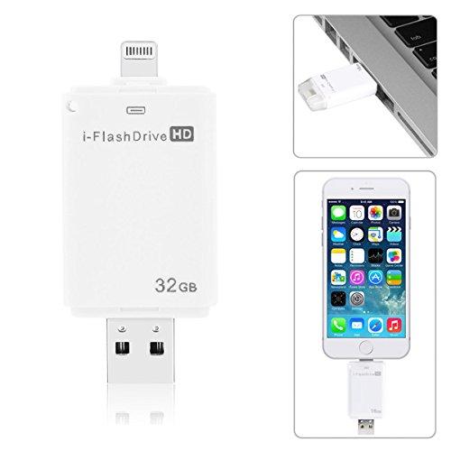 32GB i-flash Drive HD-Speichergerät für iPhone 6/5/5S iPad iPod iOS