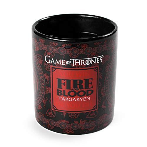 Game of Thrones GOT - Targaryen Heat Change Mug, Mehrfarbig, SCMG24715