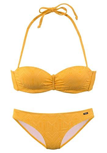 Buffalo Damen Bikini gelb 38 (S) D