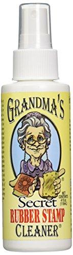 Grandma's Secret Limpiador de sellos de goma, transparente
