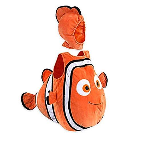 None/Brand Disfraz De Pez Payaso Cospaly Película Animada Nemo Bebé Ropa para Niños Fiesta De Navidad De Halloween