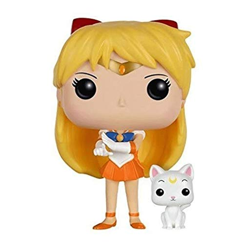 Funko Pop Animation : Sailor Moon - Sailor Venus 3.75inch Vinyl Gift for Anime Fans (Without Cat and Box) SuperCollection