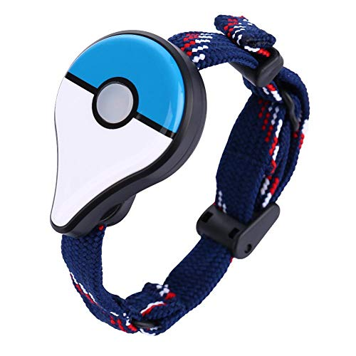 Bluetooth Game Wristband Automatic Catch für Pokemon Go Plus (Blau Weiß)