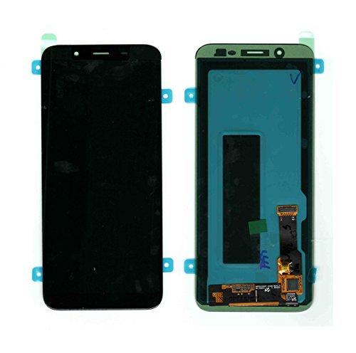 Handyteile24 ✅ LCD Display Digitizer Touchscreen Bildschirm Touch Schwarz Black GH97-21931A für Samsung Galaxy J6 2018 J600F