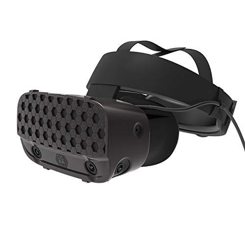 AMVR VR Headset Schutzhülle Mehrere Farben Cover Für Oculus Rift S Zubehör (Schwarz)