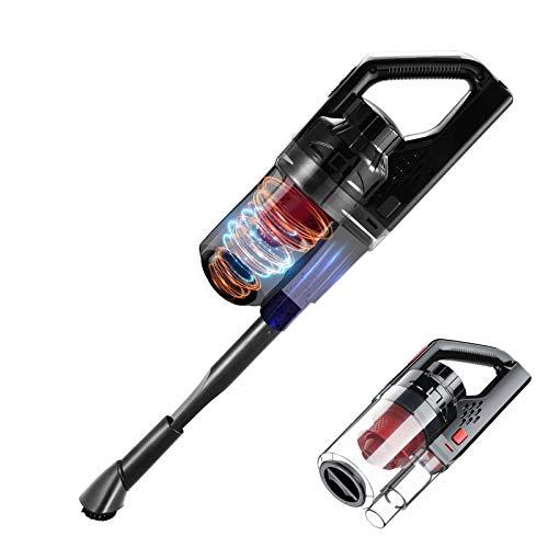 Aspiradora Portátil, 150W 6000PA Aspiradora De Mano para Automóvil Succión De Potencia Fuerte En Húmedo/Seco con Cable De Alimentación De 4.5M para Automóvil & Inicio