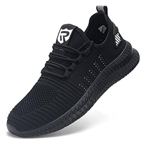 [LARNMERN] 安全靴 メンズ レディース 超軽量 通気 作業靴 防刺 防滑 黒 つま先保護 セーフティーシューズ 衝撃吸収 先芯入り あんぜん靴(�K白,37)
