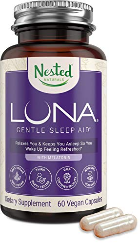 Luna | #1 Sleep Aid on Amazon | Naturally Sourced Ingredients | 60 Non-Habit Forming Vegan...
