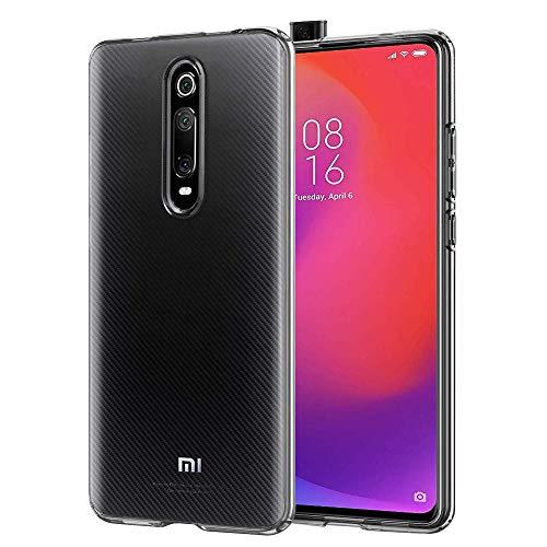 laxikoo Cover Xiaomi Mi 9T/ 9T PRO/Redmi K20 /K20 PRO, Custodia Trasparente TPU Morbido Silicone Bumper Case [Anti-Graffio][Antiurto] Cover Trasparente per...