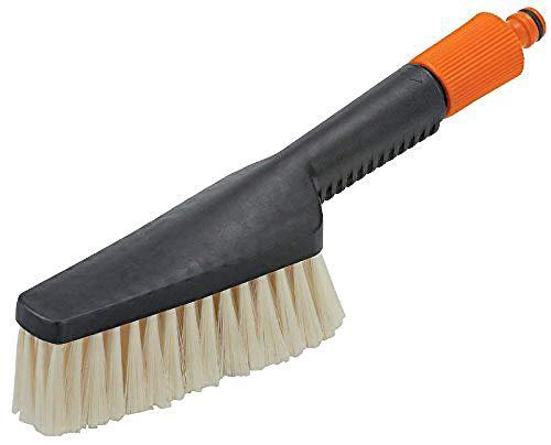Gardena Handwaschbürste, klein: Schmaler Handschrubber für schwer zugängliche Stellen, für empfindliche Oberflächen, stufenlose Regulierung (987-20)