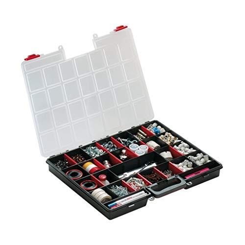 HOMEGARDEN Cassetta portaminuterie in plastica 16 scomparti cm 47x40xH 6