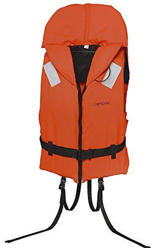 Rettungsweste Schwimmweste Compass 100 Newton mit Schritt- und Taillengurt, 10-20 kg