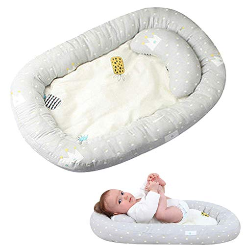 Affordable Shangmei Baby Bed, Infant Co-Sleeping Portable Cribs, Baby Breathable Lounger Sleeping Bed Baby Bassinet