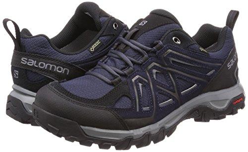 Salomon Homme EVASION 2 GTX, Chaussures de Randonnée et Multifonction, Imperméable,Gris (Graphite/Night Sky/Quiet Shade)- 42 EU