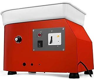 VEVOR Electrique Poterie Roue 25cm, Machine Bricolage Argile Outil 280W, Roue de poterie électrique en Céramique