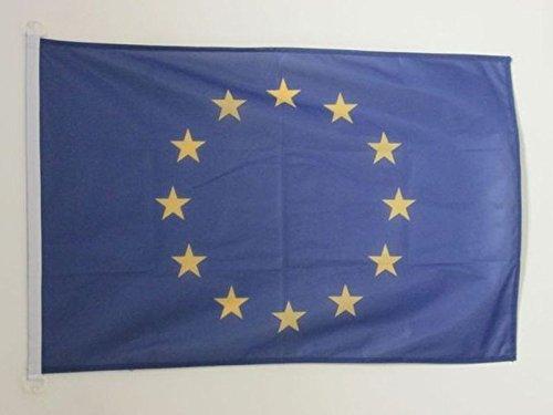AZ FLAG Bandiera Europa 90x60cm per Esterno - Bandiera Unione Europea – UE 60 x 90 cm