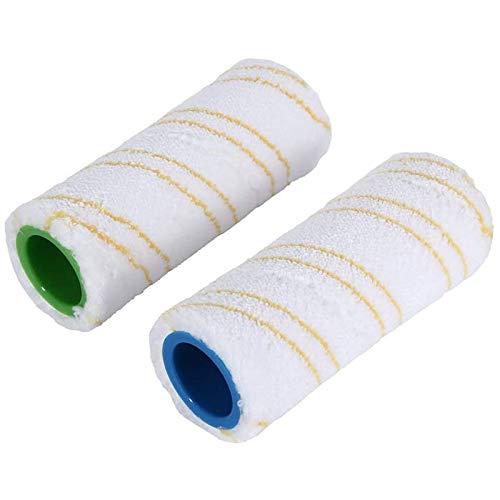 Huante - Juego de 2 cepillos de microfibra para limpiador de suelo duro Karcher FC3 FC5 FC3D, duradero y lavable