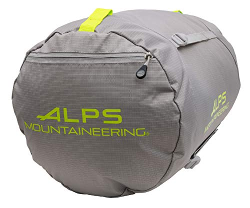 ALPS Mountaineering Compression Stuff Sack Extra Large, Gray/Green