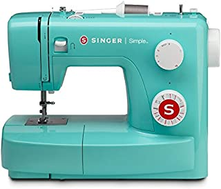 SINGER | Simple 3223G Handy Sewing Machine including 23 Built-In Stitches, Adjustable Tension, Easy Stitch Selection, Built-in Bobbin winding & Easy threading