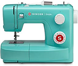 SINGER | 3223G Sewing Machine with 97 Stitch Applications, Green, 4-Step Buttonhole, & Free Arm - Perfect for Beginners - Sewing Made Easy