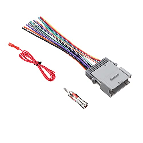 Aftermarket Stereo Install Wiring Harness for GM Chevy GMC Buick 2000-2012 Early Model
