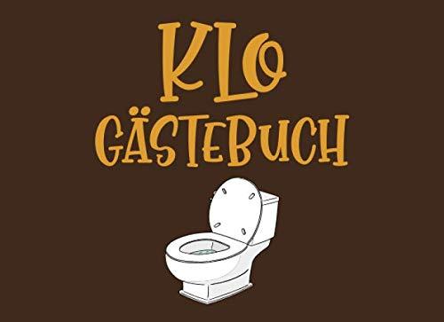 Klo Gästebuch: Fürs die Toilette Lustig zum Ausfüllen Eintragen. Einweihungsgeschenk