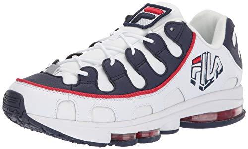 Fila Silva Trainer Schuhe White/Navy/red