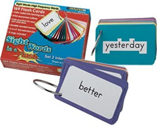 ordenar ahora Edupress Sight Words In A Flash Set Set Set 3 (Grades 2-3) by Edupress  precio al por mayor