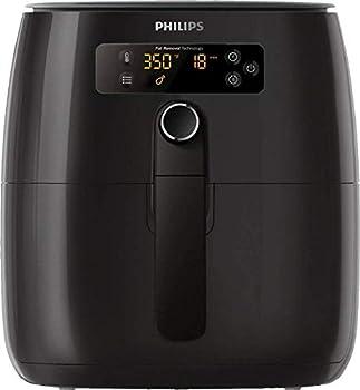 Philips Premium TurboStar 1.8lb/2.75qt Airfryer - HD9741/96  Latest Model 2020   Digital Black