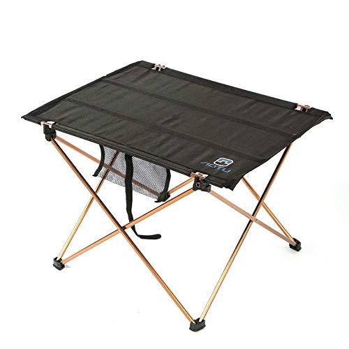 Madeinely Mesa plegable multifuncional del ordenador portátil Mesa plegable al aire libre Picnic aleación de aluminio camping senderismo
