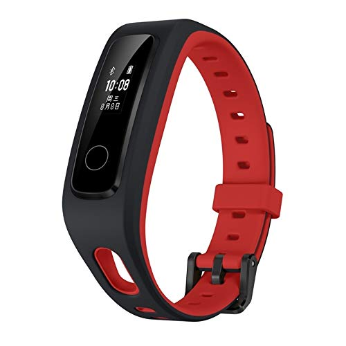 HONOR Huawei Band 4 Running Version Sport Smartwatch & Fitness Tracker - Schwarz+Rot