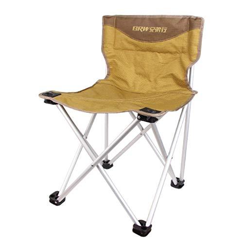 Chaise de Camping Chaise Pliante Portable Ultra-légère d'extérieur Chaise en Aluminium, Chaise de Plage, Barbecue, Chaise de pêche (Taille : Gros)
