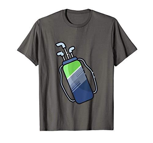 Bolsa y palos de golf Camiseta