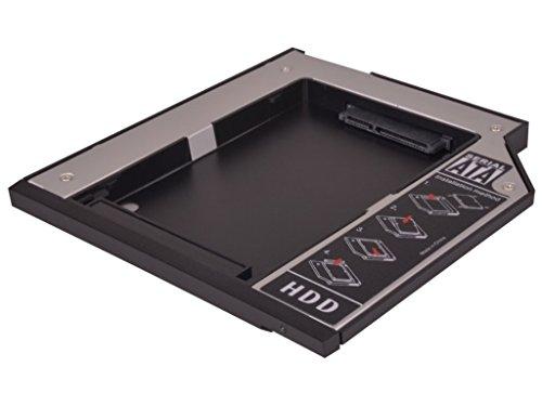 HDD/SSD Festplatten Einbaurahmen Adapter für den Laufwerksschacht unterstützt SATA III (SATA 3.0) (für Lenovo Serial UltraBay Slim - 9.5mm - SATA)