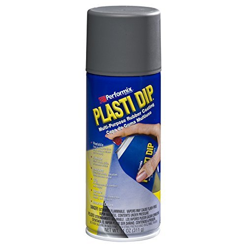 Performix Plasti Dip 11221 Gun Metal Gray Rubber Spray