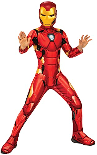 Rubies Disfraz oficial Marvel Iron Man, talla S- 5-6 años 702024-S