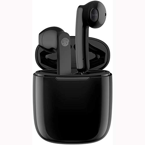 Auriculares Bluetooth - Inalámbricos - Estéreo - Deportivos - Auriculares in Ear con estuche de carga - Micrófono - Ligeros - Hi-Fi - Auriculares avanzados para todos los teléfonos