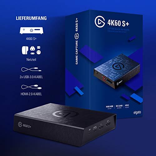 Elgato 4K60 S+ Aufnahme in 4K60 HDR10 auf SD-Karte, verzögerungsfreie Weiterleitung des 4K60 HDR Signals, PS5/PS4, Xbox Series X/S, Xbox One X/S - 7