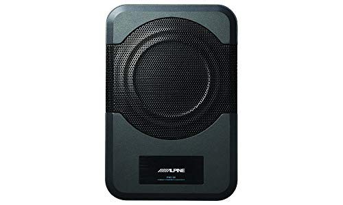 Alpine Electronics PWE-S8 Restyle Compact Powered 8-Inch Subwoofer (Renewed)