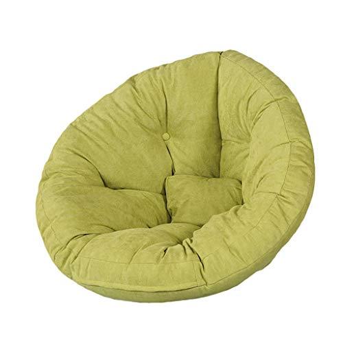 Chaises Longues canapé Chaise de Loisirs canapé Pouf Bean Bag Dossier Balcon Chambre à Coucher Leisure Portable 8 Couleurs (Couleur : F, Taille : 82 * 70 * 60cm)
