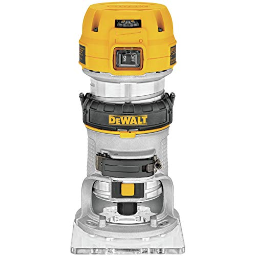 DEWALT Router, Fixed Base, Variable...