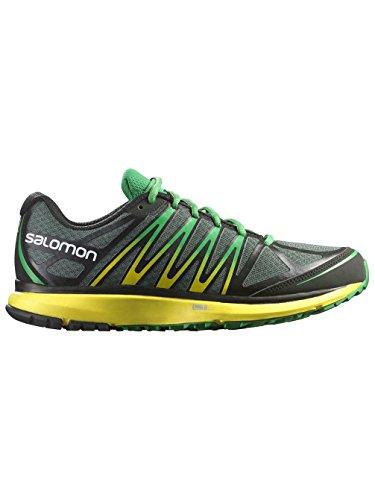 Salomon X-Tour - Zapatos para Hombre, Color TT/Canary Yellow/Clover Green, Talla 43.3333333333333