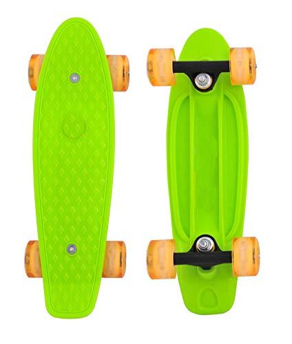 CyBoard 17inchX5inch Mini Skateboard, Mini Cruiser...