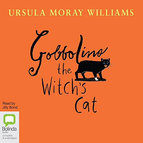 Gobbolino the Witch's Cat audiobook cover art