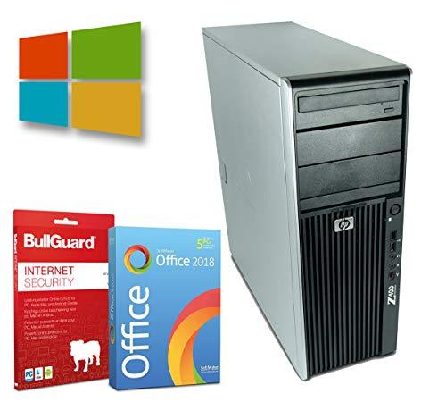 Multimedia Tower PC   Intel Xeon-W3550@ 3,06GHz   8GB   500GB HDD   DVD-Brenner   Windows 10 Pro   Nvidia Quadro FX 1800 Grafikkarte   BullGuard   SoftMaker Office