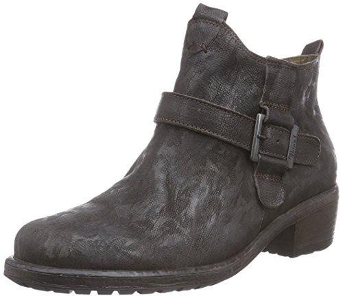 Think LIAB Stiefelette, Damen Biker Boots, Mehrfarbig (ESPRESSO/KOMBI 42), 36.5 EU